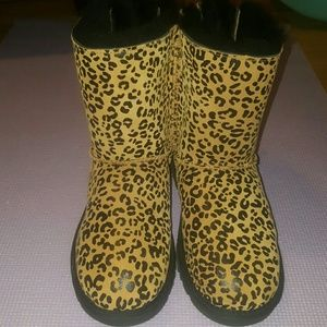 Leopard Ugg boots